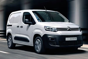 Citroen Berlingo Enterprise M BlueHDi 75BHP 650KG in White with Connected Sat Nav (New Model)