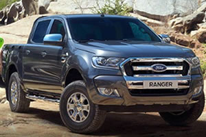Ford Ranger Double Cab Wildtrak 3.2 TDCi 200PS Auto with Metallic Paint, Front parking Sensors and Tow Bar