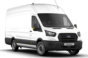Ford Transit Leader 350HD L4 H3 2.0L EcoBlue 130PS RWD Panel Van in Frozen White with PLy Lining and Full Size Spare Wheel