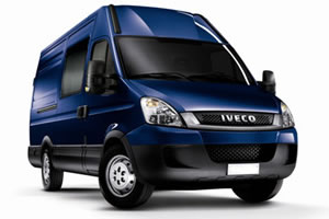 Iveco Daily Semi Window Crew Van 35 S 15 3300WB High Roof