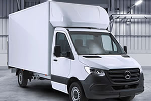 Cheap New Mercedes Sprinter Luton Van