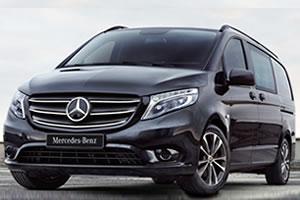 MercedesVito Premium 116CDi L2 RWD 163BHP 7-Speed G-Tronic Plus Auto 5 Seat Crew Van - Pre Reg 20 Plate