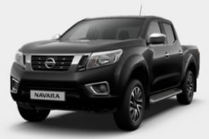 Nissan NP300 Navara N-Connecta 2.3L DCi 190PS 4WD EURO 6 Double Cab in Metallic Black