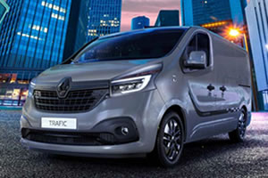 Renault Trafic Black Edition L1 H1 SL28 ENERGY DCi 145BHP Panel Van in Urban Grey