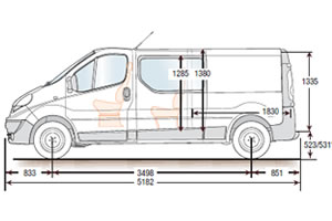 renault master van load dimensions. Black Bedroom Furniture Sets. Home Design Ideas