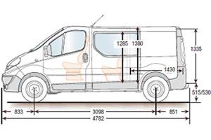 Archive Vans Renault Trafic 6 Seat Crew Van Swb Low Roof