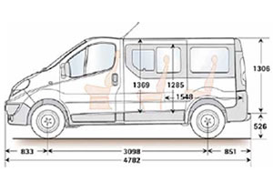 renault trafic 8 places occasion terrain a batir. Black Bedroom Furniture Sets. Home Design Ideas