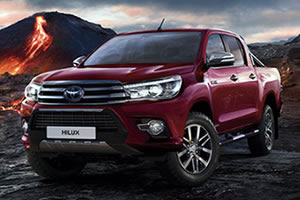 Toyota Hilux Invincible X Double Cab 2.4L D-4D 150BHP Euro 6 Manual Metallic