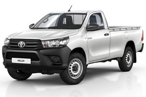 Toyota Hilux Active Single Cab 2.4L D-4D 150BHP Euro 6 Manual