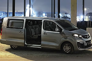 Vauxhall Vivaro Double Cab Sportive L2 H1 3100KG 2.0 Turbo D 120PS Euro 6.2 Stop&Start - New Model in White, Black or Grey