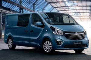 Cheap New Vauxhall Vivaro Crew Van