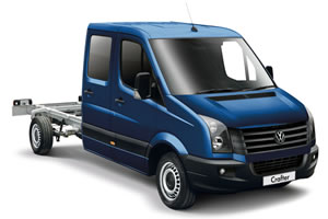 VW Crafter Crew Cab